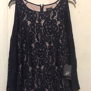 Adrianna Papell laced dress
